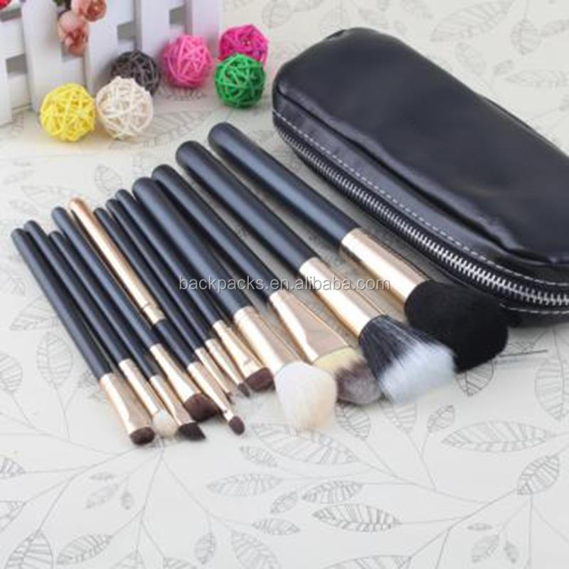 Fashion New Professional Makeup Brush Cosmetic Facial Care Beauty Make Up Bag