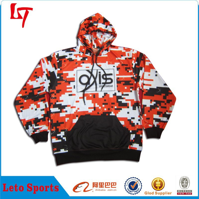 unisex polyester sublimation custom personalised hoodies ,pull over zipper up hoodies