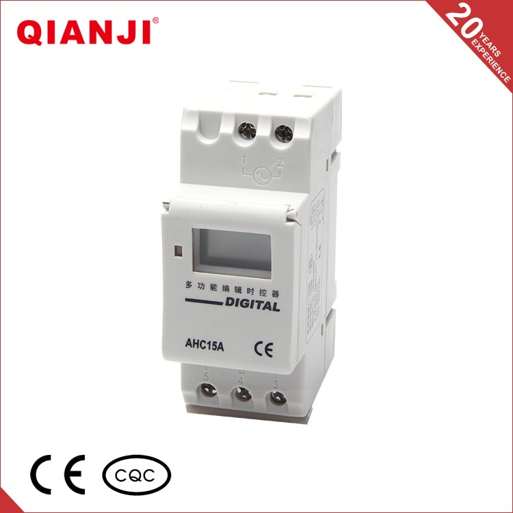 QIANJI Din-rail Weekly Programmable Electronic 24 Hours Timer Switch