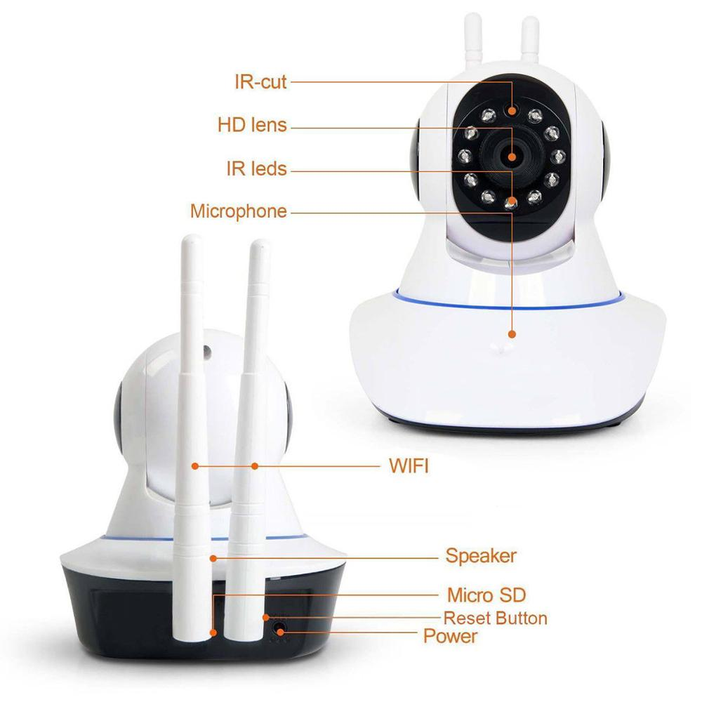 2018 Home Security 1080P HD IP Camera Wireless Smart WI-FI Audio CCTV Camera Webcam Two-way Audio