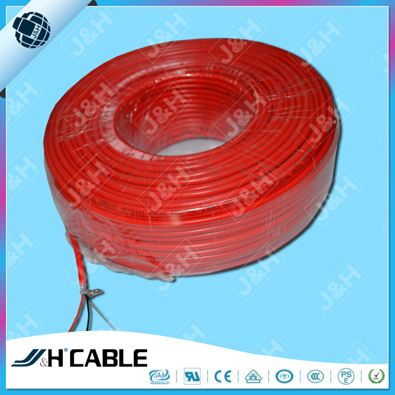 Aluminum Foil Shield PVC Or LSZH Insulation Fire Alarm Cable Security Fire Shielded Alarm Cable