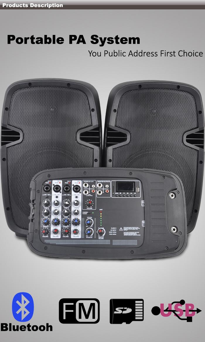 300w Portable Pa System Speaker For Sale Pml10kit Buy