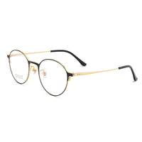 blue light filter frame metal men blue light blocking glasses