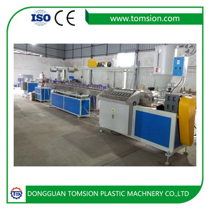 TPE/TPU rubber bands extrusion making machine