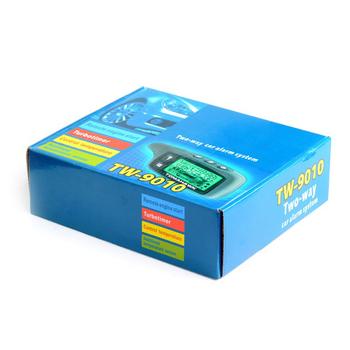 Zwei-weg Auto Alarm Tw-9010 Lcd Remote Motor Starter Auto Alarm ...