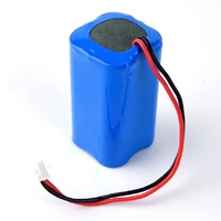 icr18650 4400mah 7.4v 2s2p 18650 battery pack li ion battery pack 7.4v 4400mah battery
