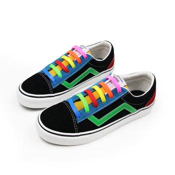 06d97092b6e Sin corbata, cordones de los zapatos para niños y adultos de silicona a  prueba de