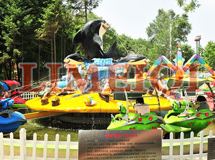 2018 new tending attractive amusement park rides Shark water park for sale