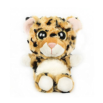 Leopard Super Cute Plush Toy Sparkle Big Eyes Beautiful Appearance MED Size For Children Gifts