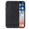 Cheap Price Skin Pattern Falling Resistant Leather Coated Cover Case for iPhone X/ XS