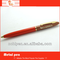 2014 Popular Promotional Smooth writting custom pens metal