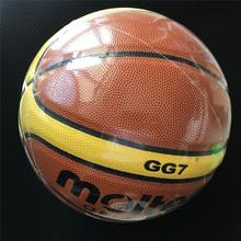 Molten PU basketball ball, Synthetic Leather size 7 size 6 size 5 customize brand basketball, GG7 GF7 GL7