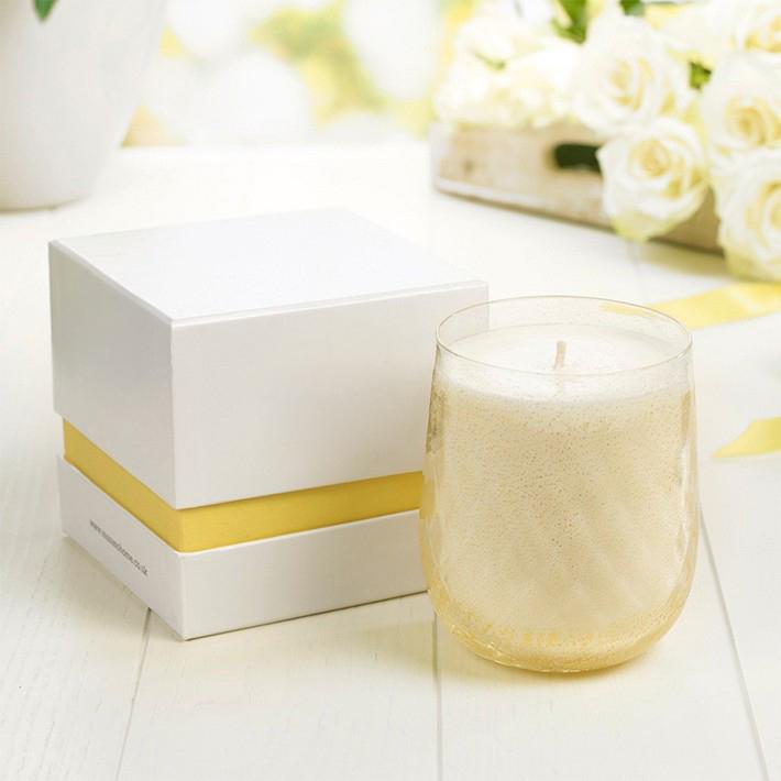 Personalizado 2 pieza vela caja de papel con tapa y la base caja de regalo de papel para la vela