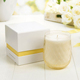 Custom 2 piece candle paper box with lid and base paper gift box for candle