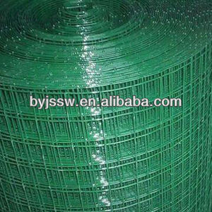 1x1, 2x2 pvc coated welded wire mesh for fence
