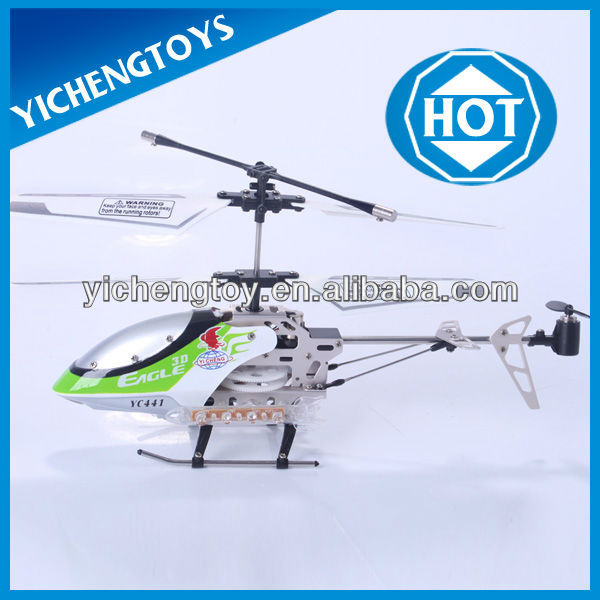 YIcheng toys alloy aircraft model flying remote control helicopter toys