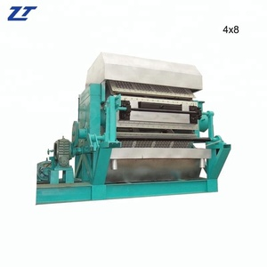 Hot sale 3000 pcs waste paper recycling machine paper pulp moolding egg tray machine/ egg carton making machine