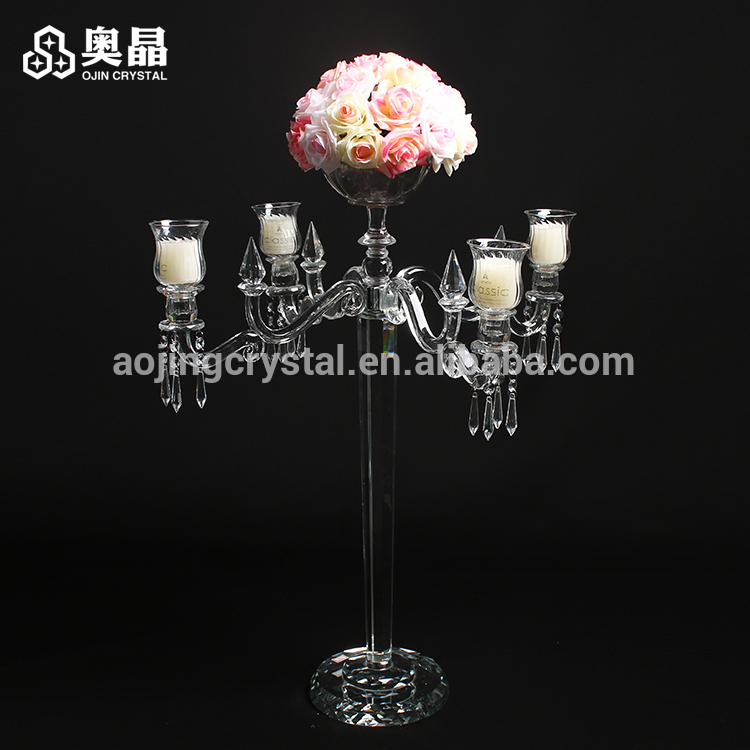 Cheap Candelabra Holders Suppliers Wedding Waterford Crystal Candle Holder