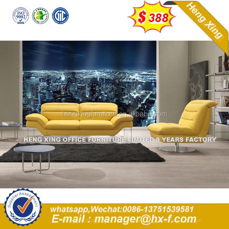 Muebles modernos mercado amarillo salón sofás de cuero-Sofás de Caña ...