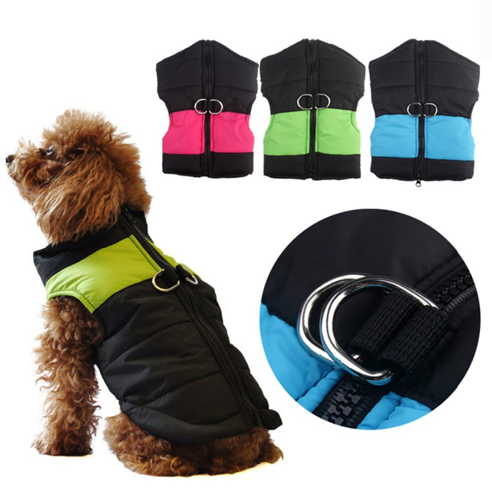 2014 New Winter Pet Clothing Warm Cotton Dog Clothes Coat ...