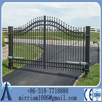 steel metal entrance gate wrought iron door gates front