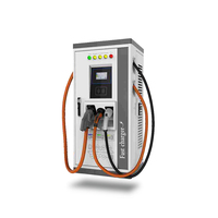 Intelligent AC/DC electric vehicle ev charging station for car