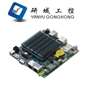 Bay trail J1900 Motherboard with Dual Lan Quad Core onboard cpu J1900
