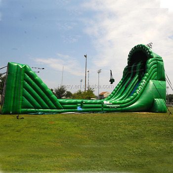 Outdoor game inflatable zip line kit for sale China factory price