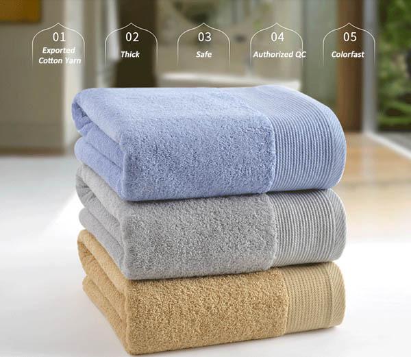 new china towel cotton pakistan cheap bath towels multi colors 70140cm