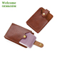 KID soft plastic business visiting name playing bingo leather card holder