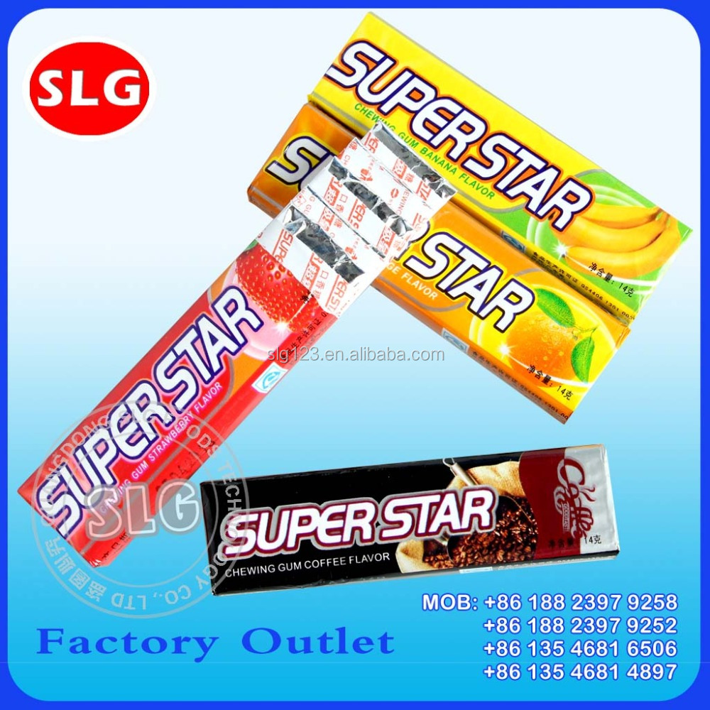 Kaffee Flavour Five Stick Super Star Kaugummi