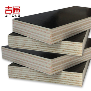 Poplar Main Material and First-Class Grade Film faced plywood WBP Glue poplar core construction