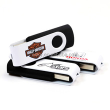 promotion swivel type usb flash drive housing with your own logo, best gift and cheapest price