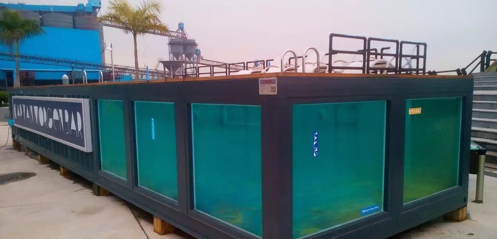 Cont iner de transporte container piscina piscina buy product on - Container piscina ...