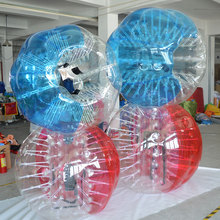 High quality inflatable knocker ball, TPU bubble football, adult body bumper ball D5101