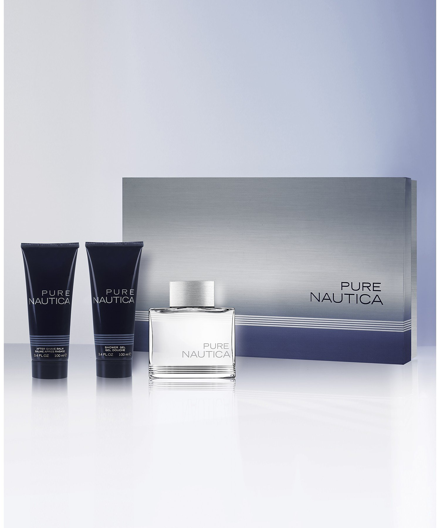 Nautica Nautica Pure 3 Piece Gift Set for Men