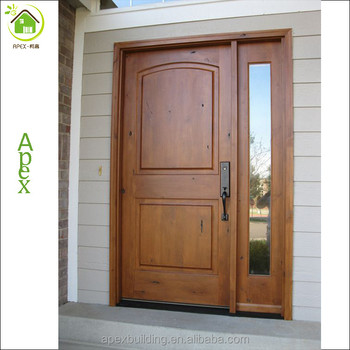 American Front Door Knotty Pine Wood Door Pre Hung Door Buy