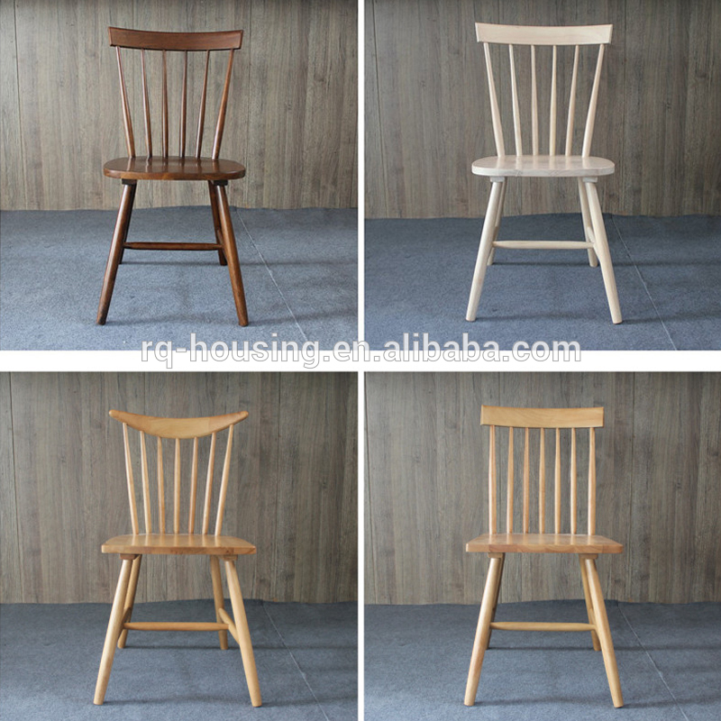 2015 New design Malaysia rubber wood chair/fancy dining room chair/hotel  luxury dining
