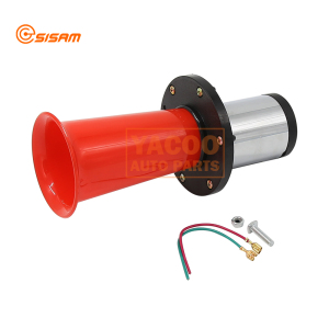 12V 110db Universal Van Air Horn Vintage Klaxon Ahoooogah Sound Whistle Classic Boat Car Electric Horn