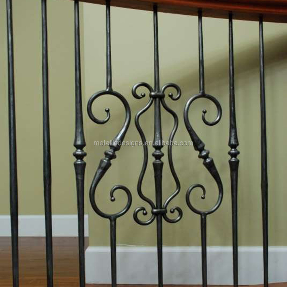 Diy Wrought Iron Stair Railing Fence Baer Clical Design Cast