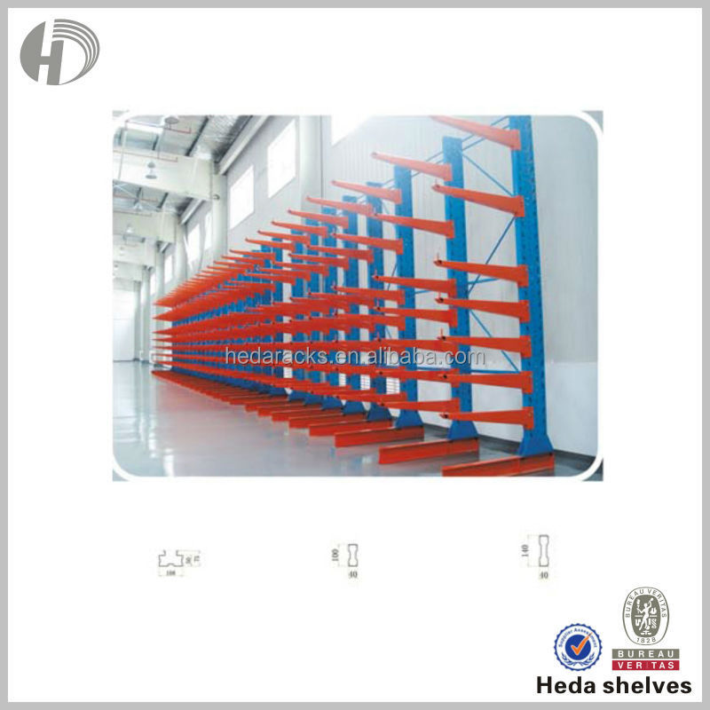 HEDA industria warehouse storage cantilever racking boltless rack malaysia