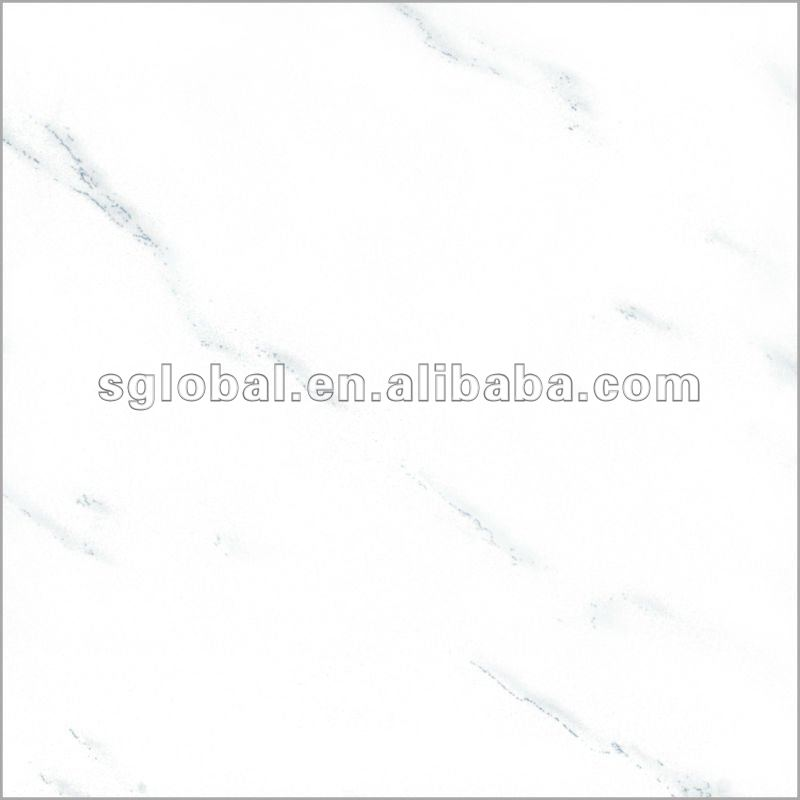 full body 24x24 white porcelain tile,polished tile,double loading