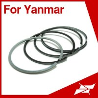 Taiwan rik piston ring for yanmar 4CH 6CH marine diesel engine parts