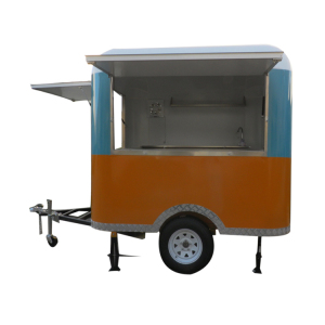 fast food mobile kitchen trailer with free energy generator/juice cart/Mobile Food Truck