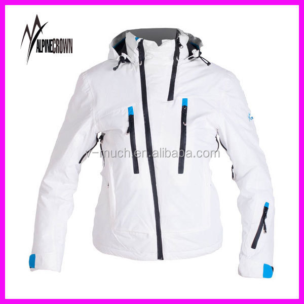 ... Women Designer Ski Wear Kaley-d Jacket in Off-  buy online 041a6 222ad  Wholesale Blank Varsity Jackets High Quality Varsity Jackets ... e68e7a245d