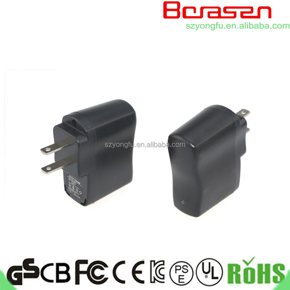5w power adapter for PSE US plug 5v ac/dc adapter 1a 2a 3a 4a 5a charger