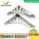 wall mounting bracket stainless steel available in many sizes