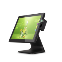 "15 inch Pos Terminal 15"" Capacitive All In One Touch Screen Pos Machine For Restaurant"
