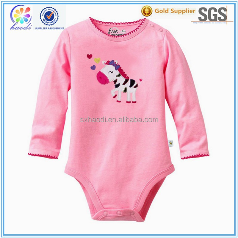 High Quality Newborn Baby Bodysuits, OEM Cute Baby Clothes, Best Selling Infant Clothing