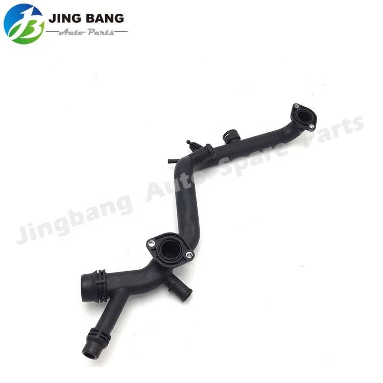 Cooling Connector Radiator Pipe Water Hose For 02-10 Audi A4 A6 06E 121 045 E 06E121045E 06E 121 045 R 06E121045R